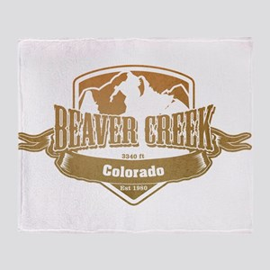 Beaver Creek Colorado Ski Resort 4 Throw Blanket