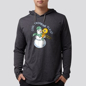 Cool Trombone Player Mens Hooded Shirt