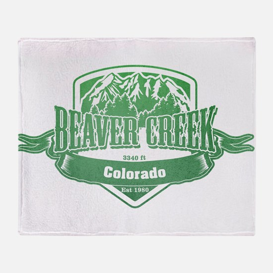 Beaver Creek Colorado Ski Resort 3 Throw Blanket