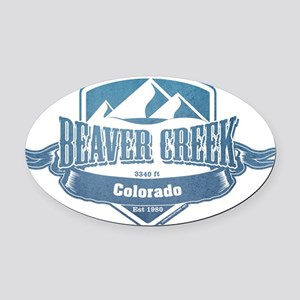 Beaver Creek Colorado Ski Resort 1 Oval Car Magnet