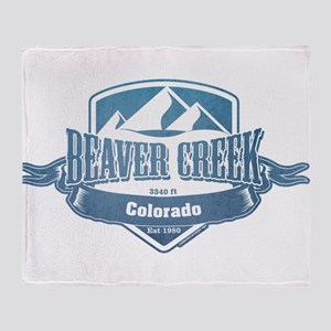 Beaver Creek Colorado Ski Resort 1 Throw Blanket
