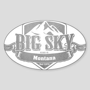 Big Sky Montana Ski Resort 5 Sticker