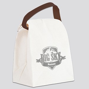 Big Sky Montana Ski Resort 5 Canvas Lunch Bag