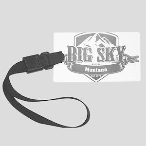 Big Sky Montana Ski Resort 5 Large Luggage Tag