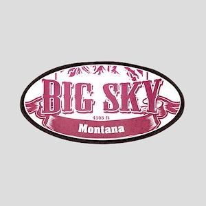 Big Sky Montana Ski Resort 2 Patches