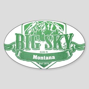 Big Sky Montana Ski Resort 3 Sticker