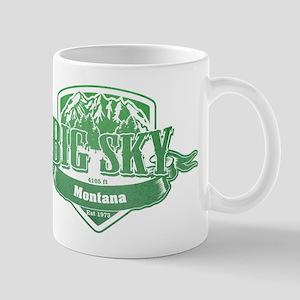 Big Sky Montana Ski Resort 3 Mugs