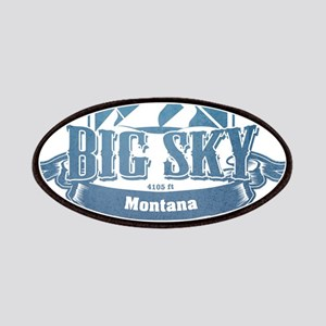 Big Sky Montana Ski Resort 1 Patches