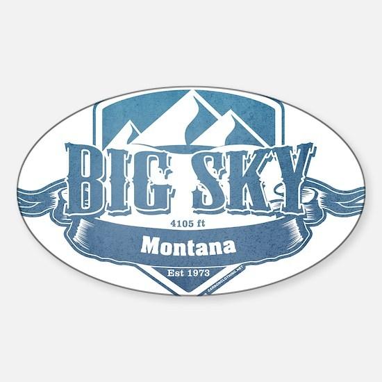 Big Sky Montana Ski Resort 1 Decal