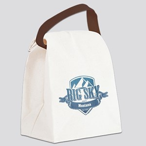 Big Sky Montana Ski Resort 1 Canvas Lunch Bag