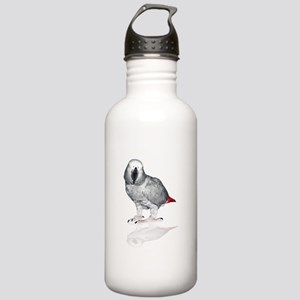 African Grey Parrot Water Bottle