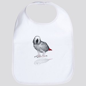 African Grey Parrot Bib