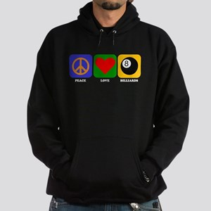 Peace Love Billiards Hoody