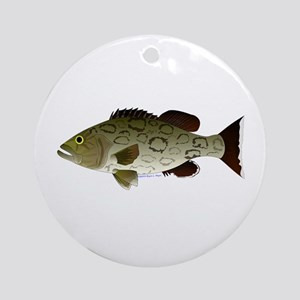 Gag Grouper Ornament (Round)