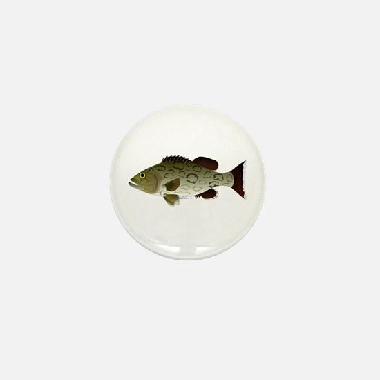 Gag Grouper Mini Button