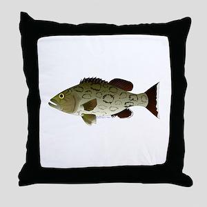 Gag Grouper Throw Pillow