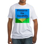 Preserve the Sandhills Fitted T-Shirt
