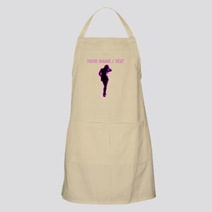 Custom Hot Pink Pin Up Apron