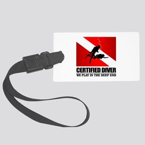 Certified Diver (Deep End) Luggage Tag