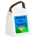 Preserve the Sandhills Canvas Lunch Bag