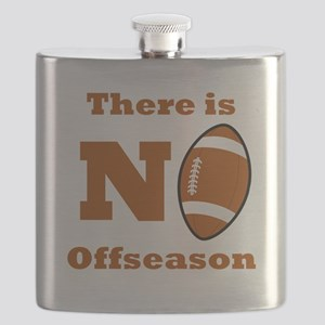 There Is No Football Offseason Flask