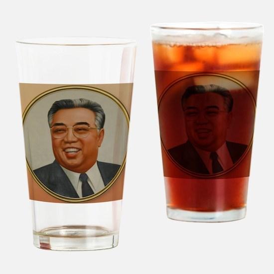 Unique Kim il sung Drinking Glass