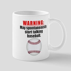Spontaneous Baseball Talk Mugs