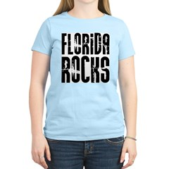 Florida Rocks Women's Pink T-Shirt