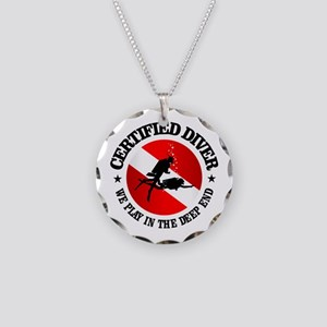 Certified Diver (Deep End) Necklace