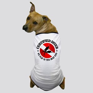 Certified Diver (Deep End) Dog T-Shirt