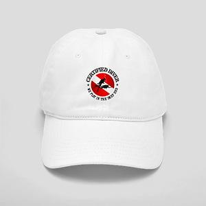 Certified Diver (Deep End) Baseball Cap
