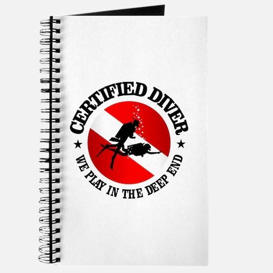 Certified Diver (Deep End) Journal