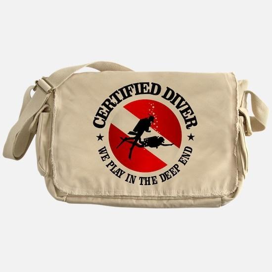 Certified Diver (Deep End) Messenger Bag