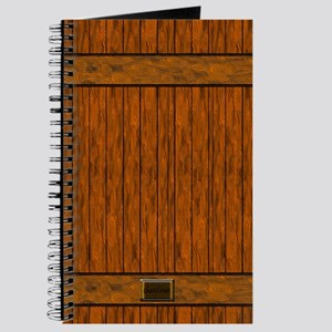 Wood Plank Decor Journal