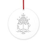 bk_crest Ornament (Round)