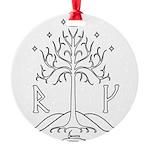 bk_crest Ornament
