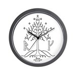 bk_crest Wall Clock