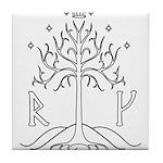 bk_crest Tile Coaster