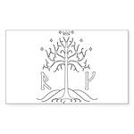 bk_crest Sticker