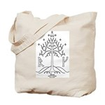 bk_crest Tote Bag