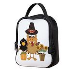 Thanksgiving Friends Neoprene Lunch Bag