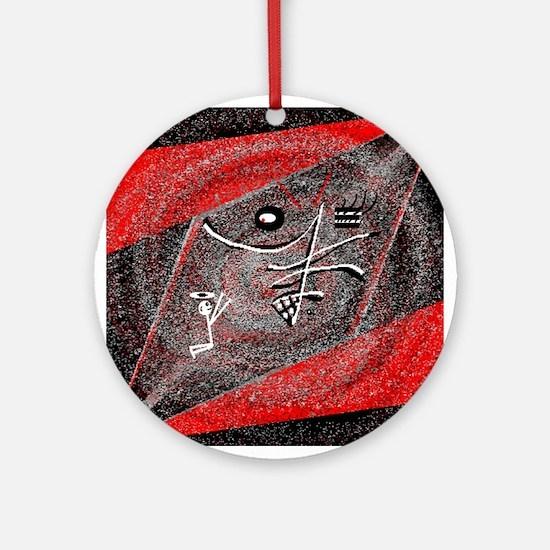 Do I Know You? by Brett Fletc Ornament (Round)