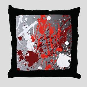 Decorative - Paint - Art Throw Pillow