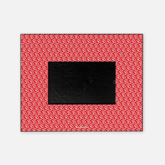 Yog Ohm Symbol Red Picture Frame