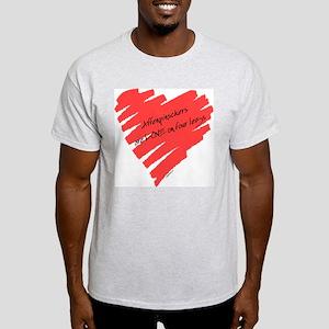Affenpinscher Love on 4 Legs Light T-Shirt