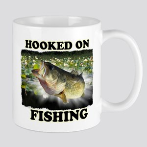Hooked on Fishing Mugs