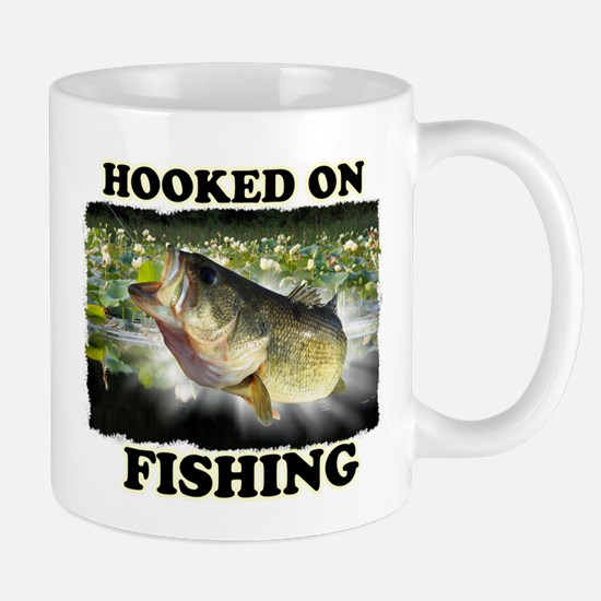 Hooked on Fishing Mugs