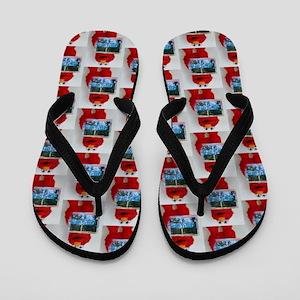 Sesame Street Flip Flops