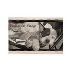 Take it Easy - Sleeping Cattle Dog Magnet