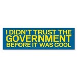Before It Was Cool Bumper Sticker